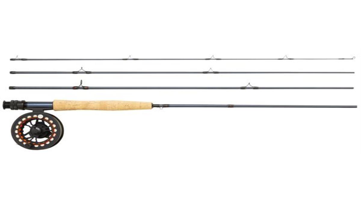 kjøp Greys K4ST X Combo 9' #5 billig fluestang ørretfiske komplett sett